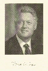 From the Inaugural invitation: A portrait of Bill Clinton