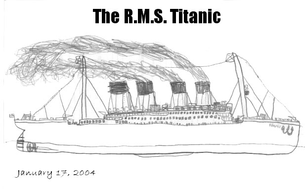 Going Going The Titanic Coloring Pages