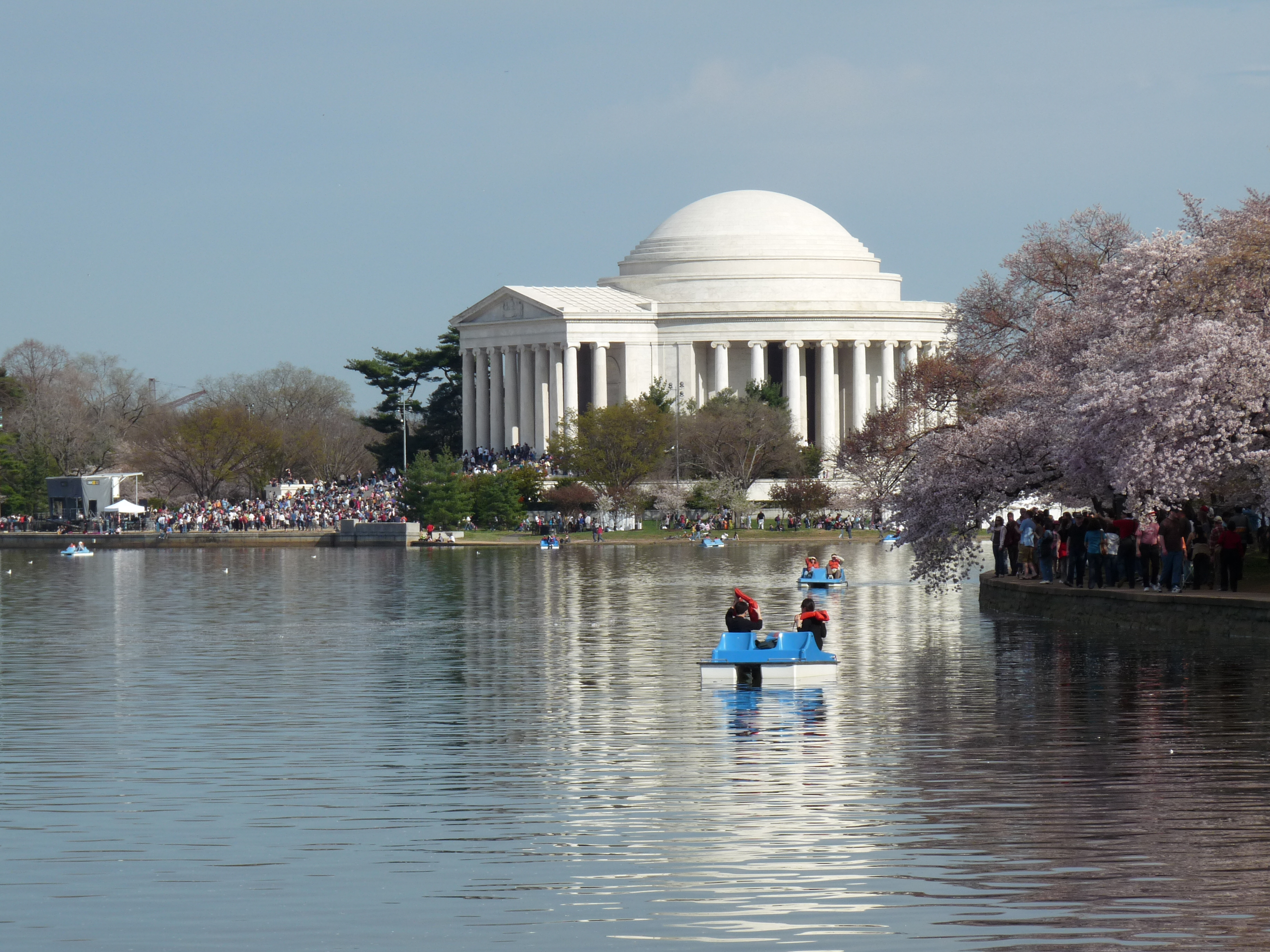 The Jefferson Memorial on the Tidal Basin