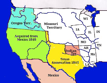 lands gained from mexico