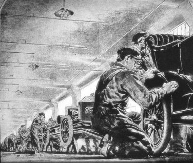 some lessons from the assembly line Some people actually know what true appreciation is, and andrew braaksma is one of them in his story he writes about his experience with a job working at an assembly line or a factory if.