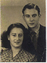 Image: Brother and Sister Elisabeth and Henry Rodrigues after WW2